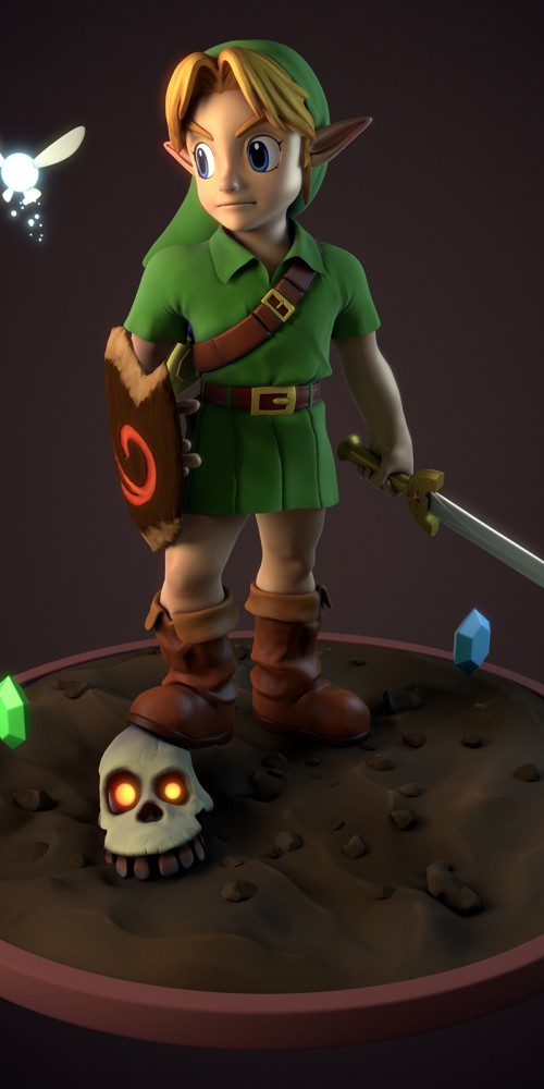 ocarina of time - link